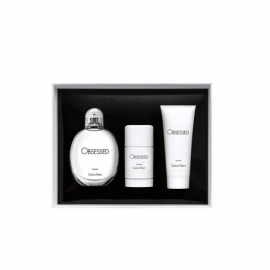 CK OBESSED FOR MEN EDT 125ML+DEO STC 75G+HB 100ML
