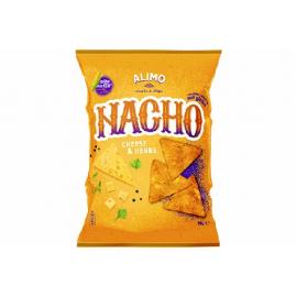 ALIMO NACHOS CHIPS SABOR A QUEIJO E ERVAS