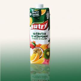 NUTRY 10 FRUITS 10 VITAMINS  1L