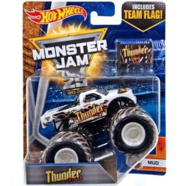 Hot Wheels Monster Jam 25 Thunder 4x4 Diecast Car [Mud]