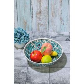 Tigela  Cerâmica para Saladas e Frutas 20 Cm