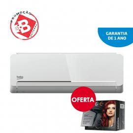 AR CONDICIONADO 18000 BTU BEKO (BRAC180 / 181) + OFERTA DE BK215 SECADOR DE CABELO PORTÁTIL 2200 WAT