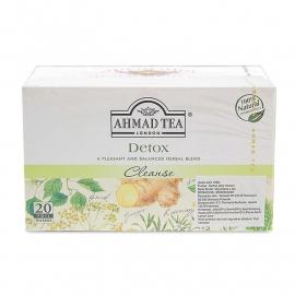 AHMAD TEA DETOX  INFUSION HERBAL TEA CLEANSE - 1366
