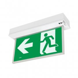 Naffco Sinal de saída - seta - Com Lampada - Alumínio EL-7008MA