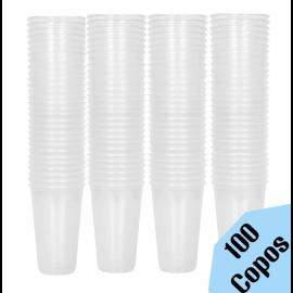 Copo de plástico transparente 270ML - 100 Copos