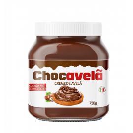 CHOCAVELÃ CREME DE CHOCOLATE COM AVELÃ 750G