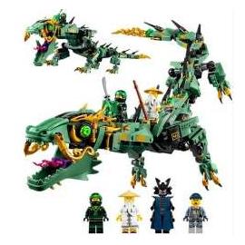 Dragão do Ninja Verde