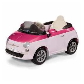 6 V Fiat 500 Remote Control Pink