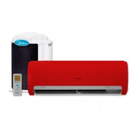 MIDEA AR COND  SPLIT 9000 VRM FRIO/QUENTE GAS R410A MS11P-09HRN1(R)