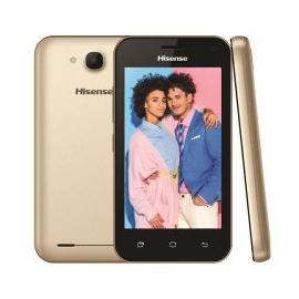 "HISENSE  SMARTPHONE 1500MAH 4"" 1+8GB 5MP OURO U605"