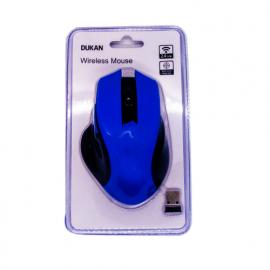 MOUSE SEM-FIO AZUL 800/1200/1600 DPI D287001