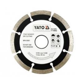DISCO DIAMANTADO 115 MM X 22.2 YATO