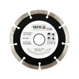 DISCO DIAMANTADO 125 MM X 22.2 YATO