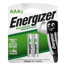 ENERGIZER RECH. AAA BL 2UN NH12RP2