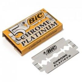 BIC LAMINAS DE BARBEAR CHROME PLATINUM X5