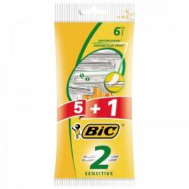 BIC BARBEADOR 2 SENSITIVE X5+1