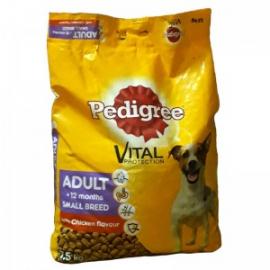 Pedigree Small Dog - Chicken flavour  7,5kg