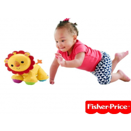 Fisher Price Lion Clicker Pal baby