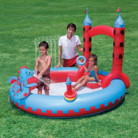 Bestway  Play Interactive Castle Inflatable Play Pool
