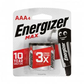 ENERGIZER MAX AAA BL 4UN E92BP4