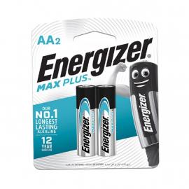 PILHAS - ENERGIZER MAXPLUS AA2 BL 2UN EP91BP2T