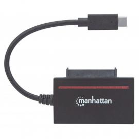 MANHATTAN ADAPTADOR USB 3.1 TO SATA/ USB-C MACHO PARA SATA 2.5' MACHO COM FAST 2.0 5Gbps