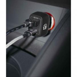 MANHATTAN CARREGADOR PARA CARRO USB-C /A FAST