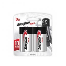 Energizer  Max  Lr20 Bl 2un E95bp2