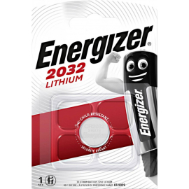 PILHAS - ENERGIZER LITHIUM 3V 1UN 2032BS1