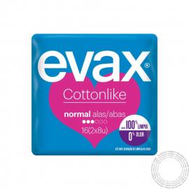Evax Cottonlike Pensos Hig. Normal 2 em 1