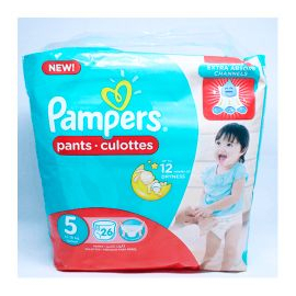 Pampers Baby Dry S5 12-18KG 26un