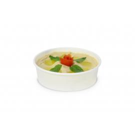 TIGELA DE SOPA 250 ml C/TAMPA (50 Pcs)
