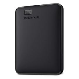 """WD HD EXT 2.5"""" 1TB USB3.0 PORTATIL BLACK"""