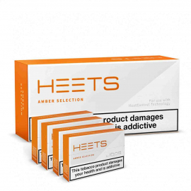 HEETS AMBER LABEL Caixa 10 pacotes