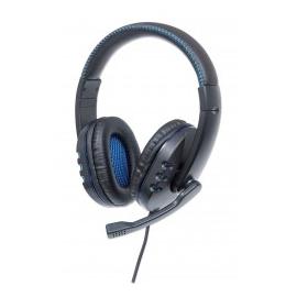 MANHATTAN AUSCULTADORES STEREO C/MICROFONE GAMING PC/PS3