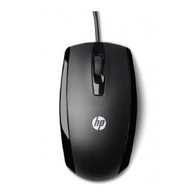 HP RATO COM FIO X500 PRETO