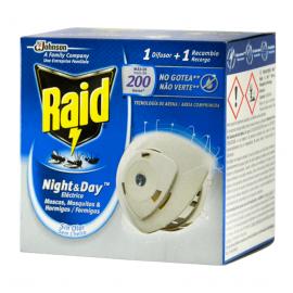 RAID Difusor Electrico+Recarga Anti-Mosquitos