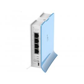 MikroTik hAP Lite Tower 2.4GHz 1.5dBi 4 Port Ethernet WiFi Router   RB941-2nD-TC