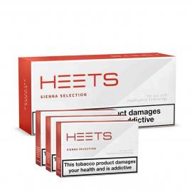 HEETS SIENNA Caixa 10 pacotes