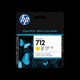 HP TINTEIRO 712 3ED69A AMARELO T650/30/T230/10 29ML