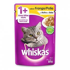 Whiskas Adulto Ração Molhada para gatos com frango 85g
