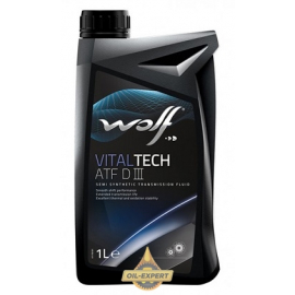 WOLF OLÉO  SEMI SINTETICO PARA MOTOR VITALTECH ATF D III  - 1LITROS