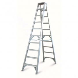 Escada de aluminio de 9 degraus USADA