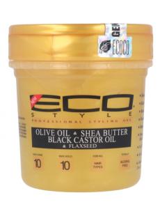 ECO STYLER GEL OLIVE OIL BLACK CASTOR OIL 8OZ 237ML