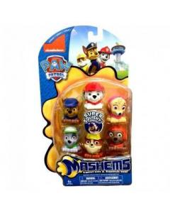 Mash'sems Value Pack 6 Figuras Paw Patrol Super Pups