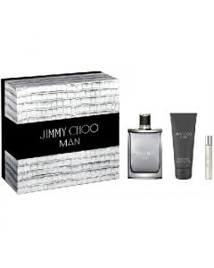 JIMMY CHOO KIT MAN EDT 100ML + GEL 100ML +BAUME 10