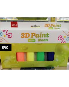 TINTA 3D 6*22ML 6 COLOUR DH-801