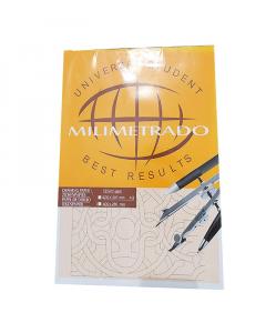 CAD.PAPEL MILIMETRADO/A3/50F 72G
