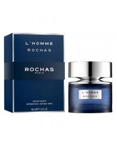 ROCHAS L,HOMME  EDT 40ML NATURAL SPRAY