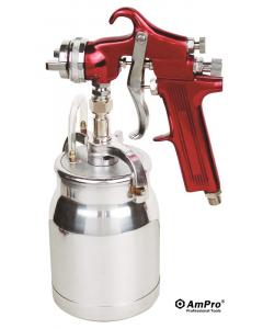 Pistola de ar para tinta 1000cc - 29psi AMPRO
